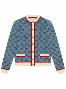 Gucci GG knit cardigan - Blue