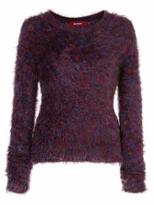 Sies Marjan Ange furry sweater - PURPLE