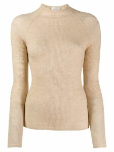Forte Forte fitted jumper - NEUTRALS