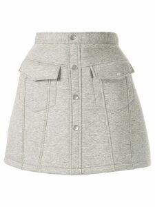 Aje mini A-line skirt - Grey