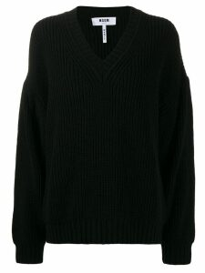 MSGM boyfriend jumper - Black
