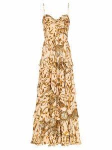 Johanna Ortiz All I've Ever Known layered dress - ORANGE