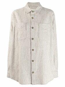 Isabel Marant Étoile Paulie shirt jacket - White