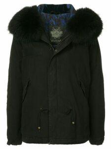 Mr & Mrs Italy fur hood parka - Black