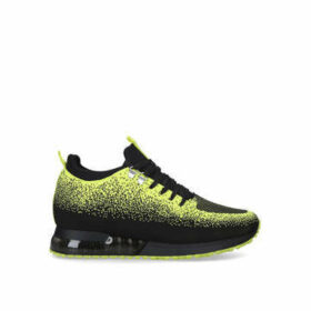 Mallet Tech Runner Neon - Yellow And Black Lace Up Trainers