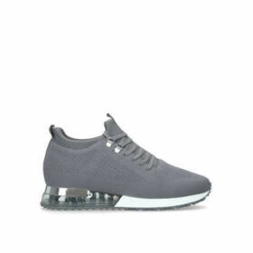 Mallet Tech Runner Grey - Grey Lace Up Trainers