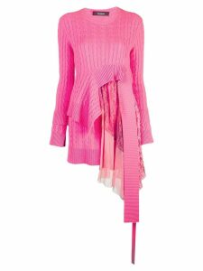 Sies Marjan Trine cable knit sweater - Pink