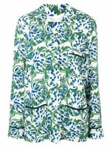 Victoria Victoria Beckham floral pyjama shirt - Green