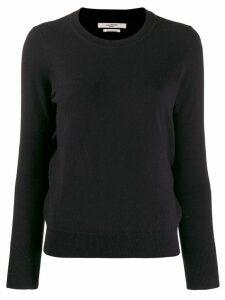 Isabel Marant Étoile crew neck fitted jumper - Black