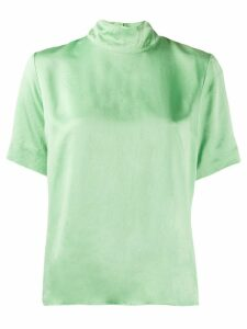 Forte Forte boxy fit short sleeve top - Green
