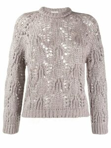 Forte Forte open knit jumper - PINK