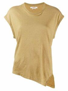Isabel Marant Étoile asymmetric T-shirt - Green
