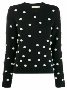 Tory Burch polka dot sweater - Blue