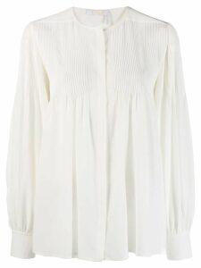 Chloé prairie blouse - White