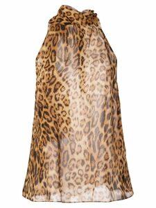 Nili Lotan halter blouse - Brown
