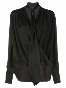 Derek Lam draped shirt - Black