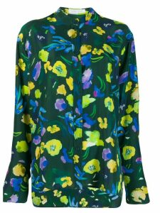 Christian Wijnants floral blouse - Green