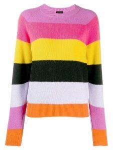 Stine Goya Magdalena Stripes Knitwear - PINK