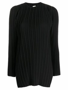 Victoria Victoria Beckham pleated blouse - Black
