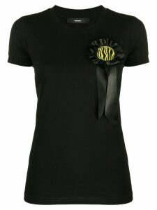 Diesel rosette T-shirt - Black