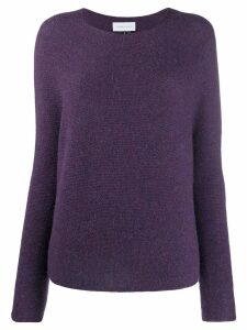 Christian Wijnants knitted jumper - PURPLE