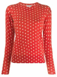Forte Forte polka dot jumper - Red