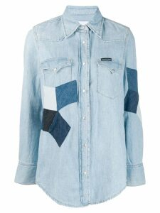 Calvin Klein Jeans Foundation Western denim shirt - Blue