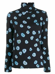 Christian Wijnants floral top - Blue