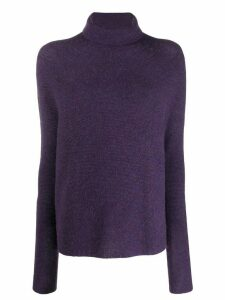 Christian Wijnants turtle neck jumper - PURPLE