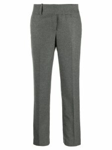 Ermanno Scervino belted straight-leg trousers - Grey