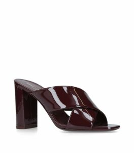 Patent Loulou Mules 95
