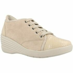 Stonefly  EBONY 1  women's Shoes (Trainers) in Beige