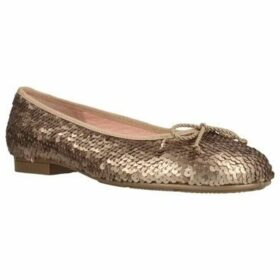 Made With Love  2000M  women's Shoes (Pumps / Ballerinas) in Gold
