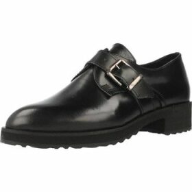 Gas  IRIS  women's Loafers / Casual Shoes in Black