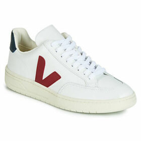 Veja  V-12 LEATHER  women's Shoes (Trainers) in White