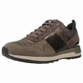 Geox  D ANEKO B ABX A  women's Shoes (Trainers) in Brown