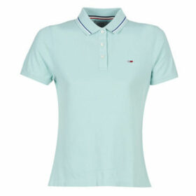 Tommy Jeans  TJW TOMMY CLASSICS P  women's Polo shirt in Blue