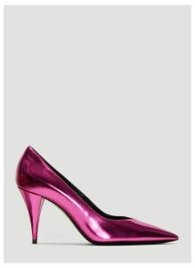 Saint Laurent Mirror Look Kiki Pumps in Pink size EU - 40