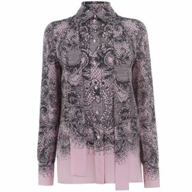 Valentino Val Lace Prnt Blouse Ld93