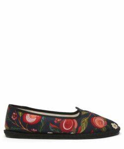 X Vibi Venezia Valencia Silk Furlane Slippers