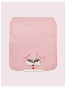 Make It Mine Spademals Mod Dog Flap - Rococo Pink - One Size