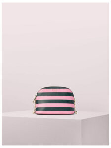 Sylvia Stripe Small Dome Crossbody - Pink Multi - One Size