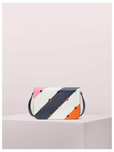 Nicola Mod Dot Medium Shoulder Bag - Juicy Orange Multi - One Size
