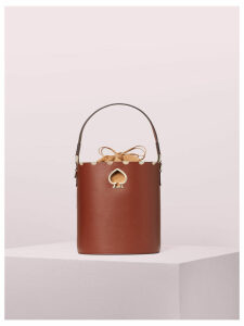 Suzy Scallop Small Bucket Bag - Cinnamon Spice - One Size