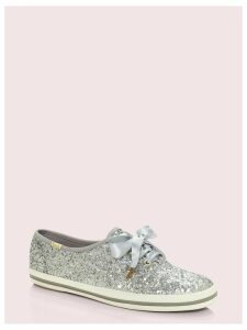 Keds X Kate Spade New York Glitter Sneakers - Silver - 5 (Us 7.5)