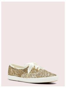 Keds X Kate Spade New York Glitter Sneakers - Platinum - 4 (Us 6.5)