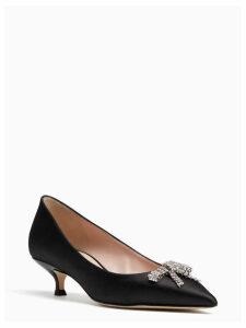 Derbie Kitten Heels - Black - 4 (Us 6.5)