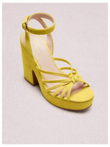 Glenn Platform Sandals - Vibrant Canary - 3.5 (Us 6)
