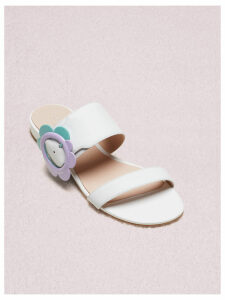Fabi Sandals - White Nappa - 4 (Us 6.5)