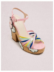 Gerry Platform Sandals - Multi Rococo Pink - 4 (Us 6.5)